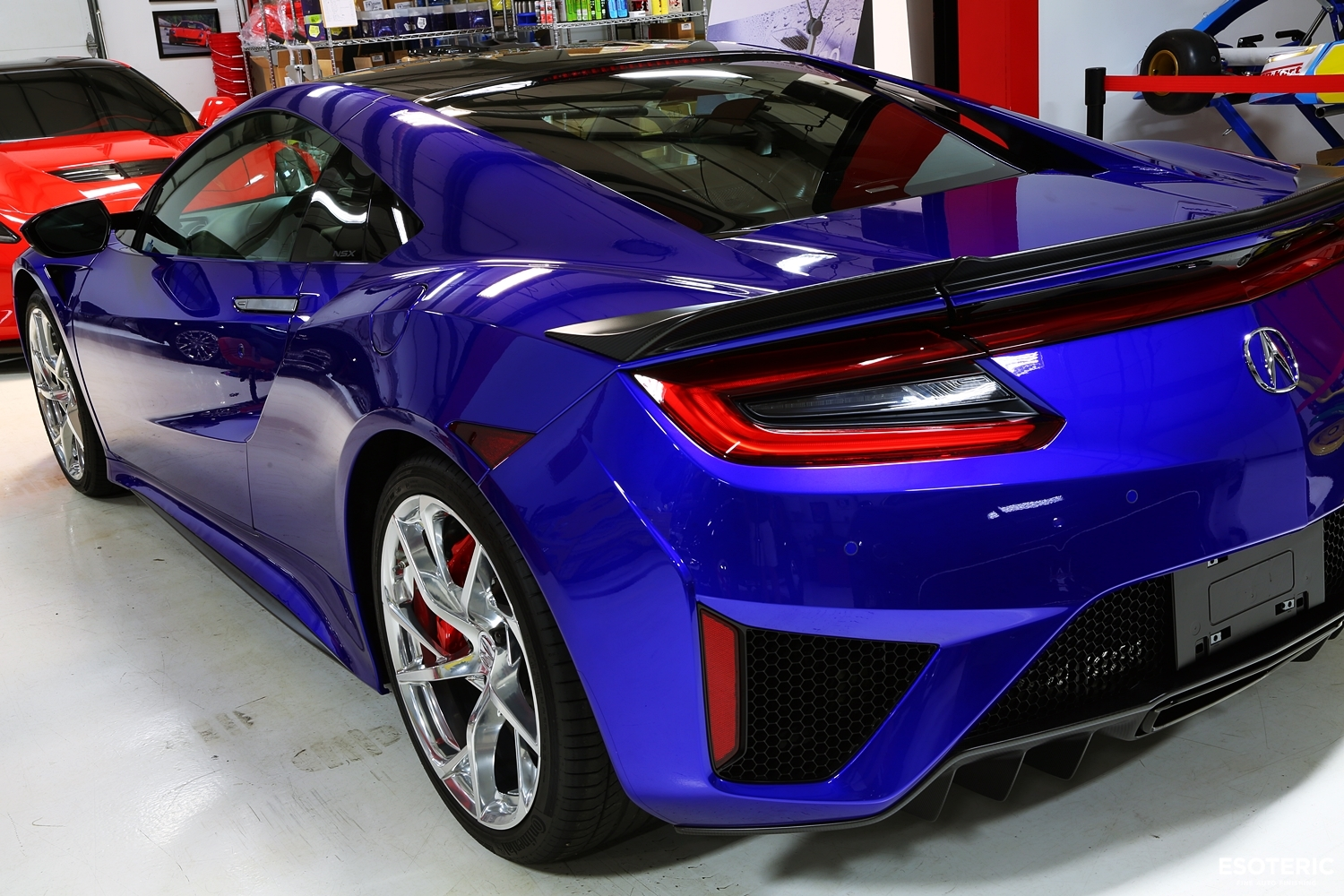 Acura Nsx Blue Kamikaze Collection Usa